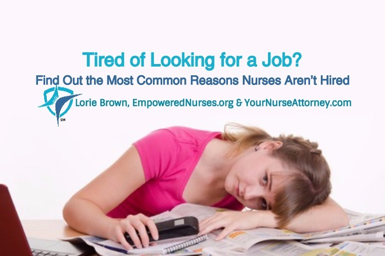 Tired looking for a nursing job