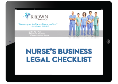 Nurses Business Legal Checklist