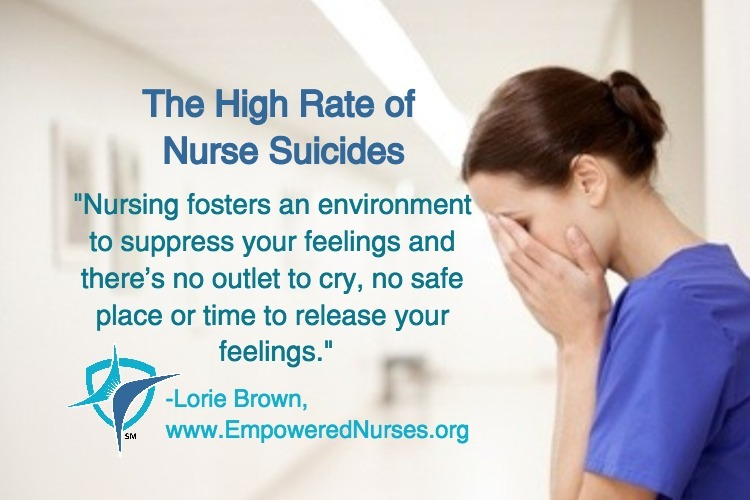 High Rate of Nurse Suicides