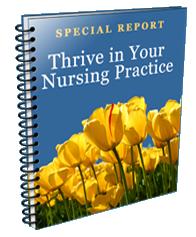 Thrive in Your Nursing Practice Book