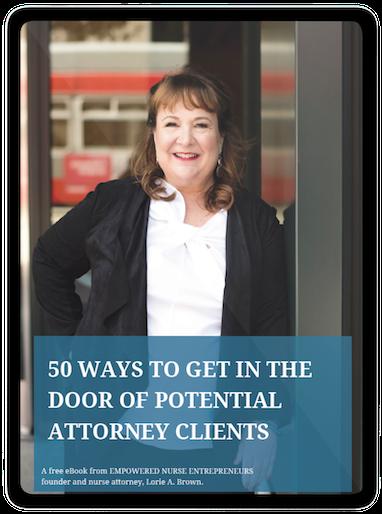 50 Ways Door Attorney Clients